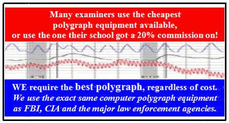 Polygraph test Los Angeles under $200