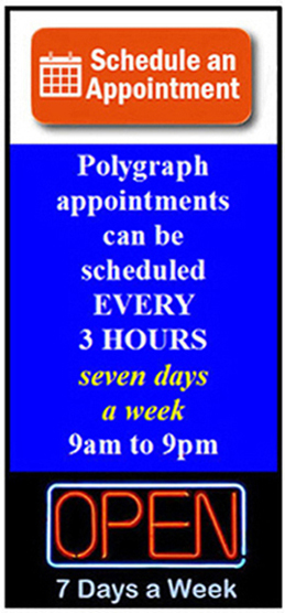 polygraph Yuba City Sutter County