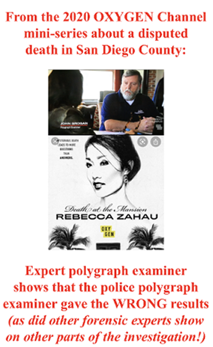 renowned polygraph examiner John Grogan